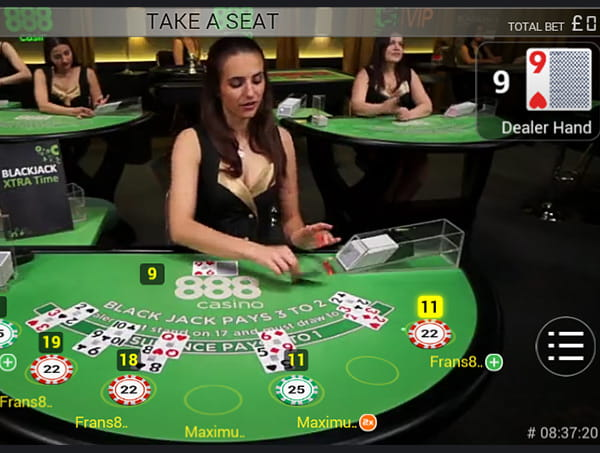Mobile Blackjack Games Features Live Dealer Bonuses